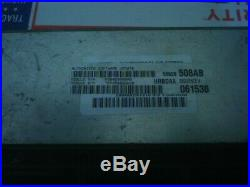 01 Dodge RAM CUMMINS DIESEL engine computer (5.9) 56028508AB