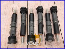 0432131837 Set Of 6 Fuel Injector For Cummins 5.9L 6BT Diesel Engine