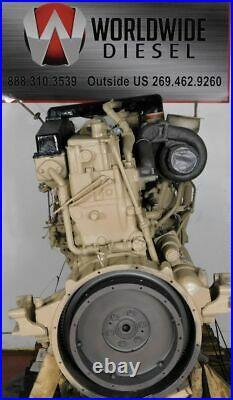 1980 Cummins Big Cam II Diesel Engine, 350HP, Approx 423K Miles. All Complete