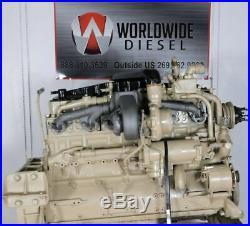 1982 Cummins Big Cam 3 Diesel Engine, 300HP, Approx 398K Miles. All Complete