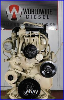 1982 Cummins Big Cam II Diesel Engine, 300HP, Approx 398K Miles. All Complete