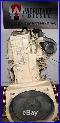 1987 Cummins 444 Big Cam IV Diesel Engine, 444HP, Approx 351K Miles