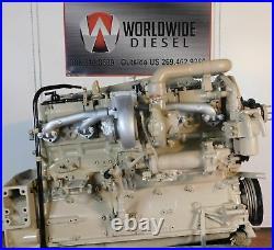 1987 Cummins Big Cam IV Diesel Engine, 315HP, Approx 443K Miles. All Complete