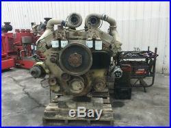 1987 Cummins KTA38 Diesel Engine, 925HP. All Complete