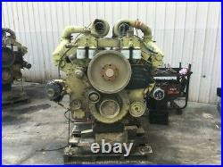 1990 Cummins KTA 38 Diesel Engine, 925HP. All Complete and Run Tested