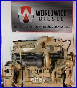 1992 Cummins L10E Diesel Engine. 330HP. Approx. 271K Miles. All Complete