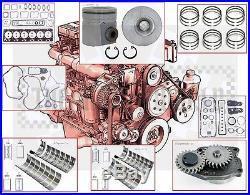 1994 -98 VIN C, D Dodge Cummins 180 HP 5.9 Diesel engine Rebuild kit +oil pump