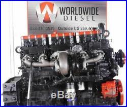 1994 Cummins N14 Red Top Diesel Engine, 500HP, Approx. 220K Miles on Overhaul