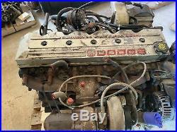 1998 2002 Dodge 24 Valve 5.9 Cummins Diesel Engine Complete 178k Miles No Core