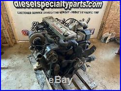 1998 2002 Dodge 5.9 24 Valve Cummins Diesel Engine Complete 198k Miles No Core