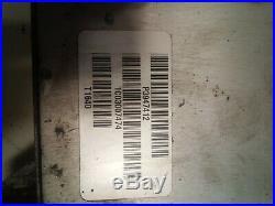 2001 DODGE RAM 5.9L CUMMINS DIESEL ECM Engine Control Module 3947912 #107