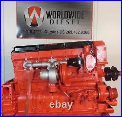 2002 Cummins ISX Non EGR Diesel Engine, 475HP, Approx. 469K Miles. All Complete
