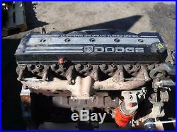 2002 Dodge 5.9 24 Valve Cummins Diesel Long Block Engine 166k Miles No Core