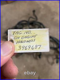 2004 Dodge Ram 3500 5.9 Cummins Diesel Engine Wiring Harness Tag#3969687