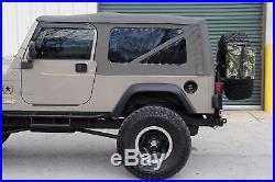 2005 Jeep Wrangler 4BT Cummins Diesel Rubicon Sahara Unlimited LJ
