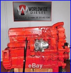 2006 Cummins ISX Diesel Engine, 475 HP, Approx. 409K Miles. Good Running Engine