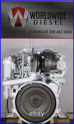 2007 Cummins QSL 9 Marine Diesel Engine, 405 HP, Fresh/Low Hour Reman