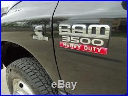 2008 Dodge Ram 3500 Laramie Mega Cab 6-Spd Manual
