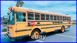 2008 Thomas School Bus Front Engine 6.7L Cummins Diesel Used Buses skoolie