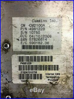 2009 DODGE RAM TRUCK 6.7L CUMMINS DIESEL Engine Control ECU ECM Module 4981228