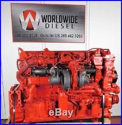 2011 Cummins ISX 15 DPF/DEF Diesel Engine, 450 HP, Approx. 900K Miles