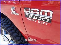 2011 Dodge Ram 3500 ST 6 SPD MANUAL