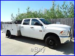 2012 Ram 3500 ST Utility Bed