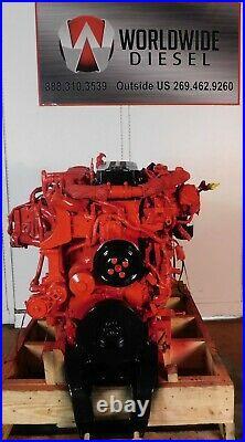 2013 Cummins ISB 6.7 Diesel Engine, 260HP, Approx. 89K Miles. All Complete