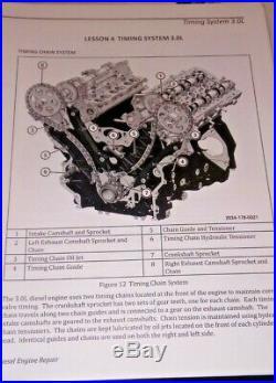 2014 15 16 Jeep 3.0l VM Dodge 6.7 Cummins Diesel Engine Factory Training Manual