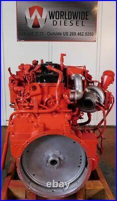 2014 Cummins ISB 6.7 Diesel Engine, 220HP, Approx. 38K Miles. All Complete