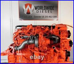 2014 Cummins ISX Diesel Engine, 500HP, Approx. 413K. All Complete