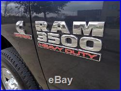 2014 Ram 3500 Tradesman 6 spd Manual Transmission