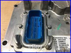 2016 Dodge Ram 2500 6.7l Cummins Diesel Engine Control Module Ecu Ecm 4358811