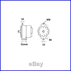65A CASE I. H. John Deere CDC New Holland. 0120488205 0120488293 Lichtmaschine