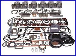 6BT Cummins Overhaul Engine Kit for Case 621, 621B, 903, 1085B, 1085C, and 9030B