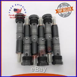 6Pcs Fuel Injectors 0432131837 3919350 For Cummins 5.9L 6BT Diesel Engine