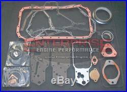 89-98 3.9L 4BT Diesel Engine Overhaul Rebuild Kit MARINE BOWL Fits CUMMINS