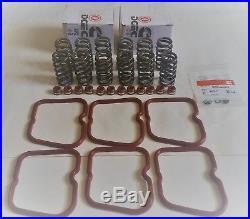89-98 Cummins 5.9 12V 60# Upgraded Springs High RPM WithValve Gaskets + Stem Seals