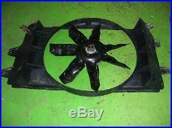 94-02 Dodge Ram 5.9L Cummins diesel ENGINE COOLING FAN SHROUD caution fan blade