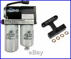 AirDog II-4G 165 GPH & Fleece Fuel Filter Bypass Kit For 05-07 Ram 5.9L Cummins