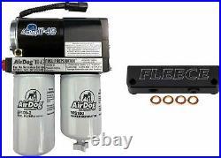 AirDog II-4G 200 GPH & Fleece Fuel Filter Bypass Kit For 10-18 Ram 6.7L Cummins