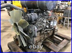 CUMMINS 6CT8.3 TURBOCHARGED DIESEL ENGINE RUNNING COMPLETE 505 Cu In 215HP