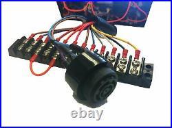 CUMMINS Diesel Engine instrument panel, 6 GUAGES WHITE KIT Sender included