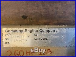 CUMMINS ISB ECM 3990517 Good Takeoff 5.9 Diesel Engine PCM 5019567 260hp
