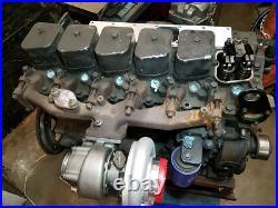 CXRacing Aluminum Roller Rocker Arms For 4BT 3.9L 12V Cummins Diesel Engine