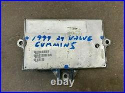 Computer ECM ECU 1999 24 Valve Dodge Ram Cummins Diesel 5.9L ISB 3942336