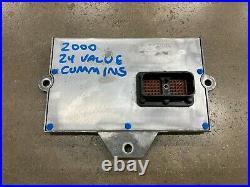 Computer ECM ECU 2000 24 Valve Dodge Ram Cummins Diesel 5.9L ISB 3946242