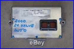 Computer ECM ECU 2000 24 Valve Dodge Ram Cummins Diesel Automatic P3946242