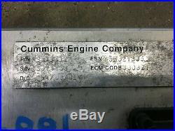 Computer ECM ECU 2001 24 Valve Dodge Ram Cummins Diesel 3947412