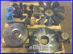 Cummins 4BT Engine Parts Fan Bell Housing Starter Turbo Flywheel Exhaust